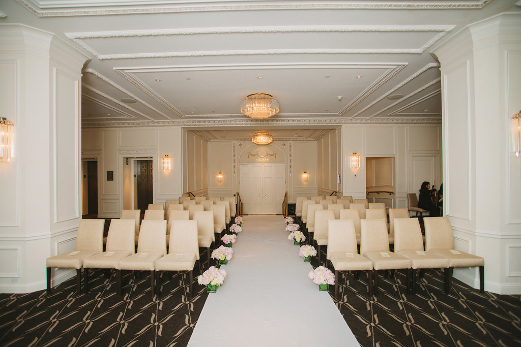 Hotel Georgia Wedding Ceremony