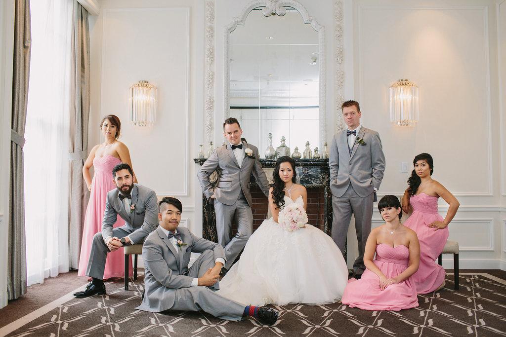 Vogue Wedding Party Hotel Georgia