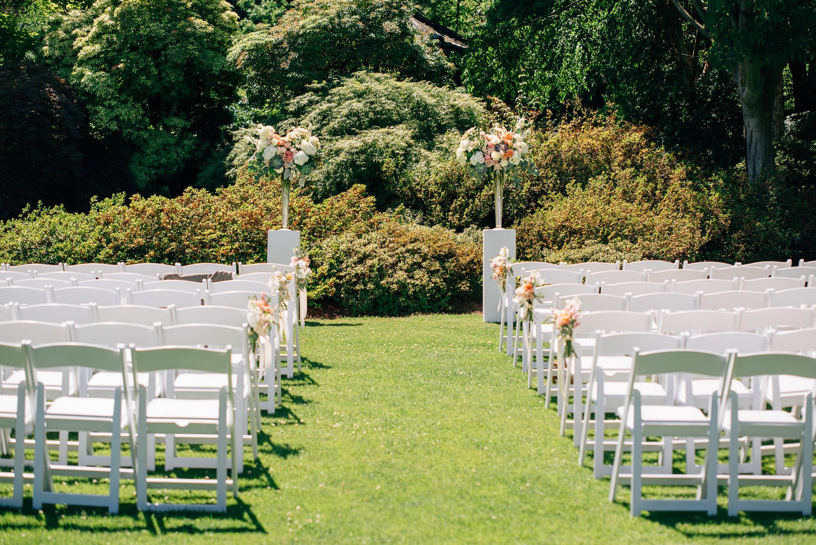 Van Dusen Gardens Ceremony Site