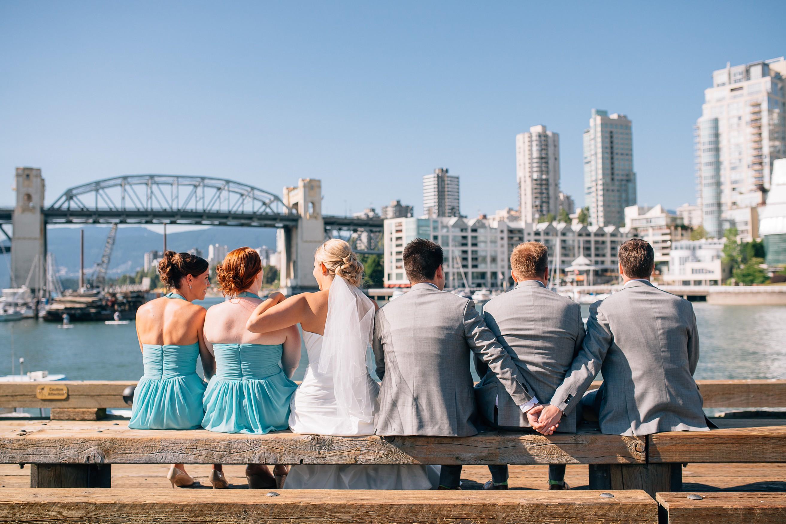 Sunny Vancouver Wedding
