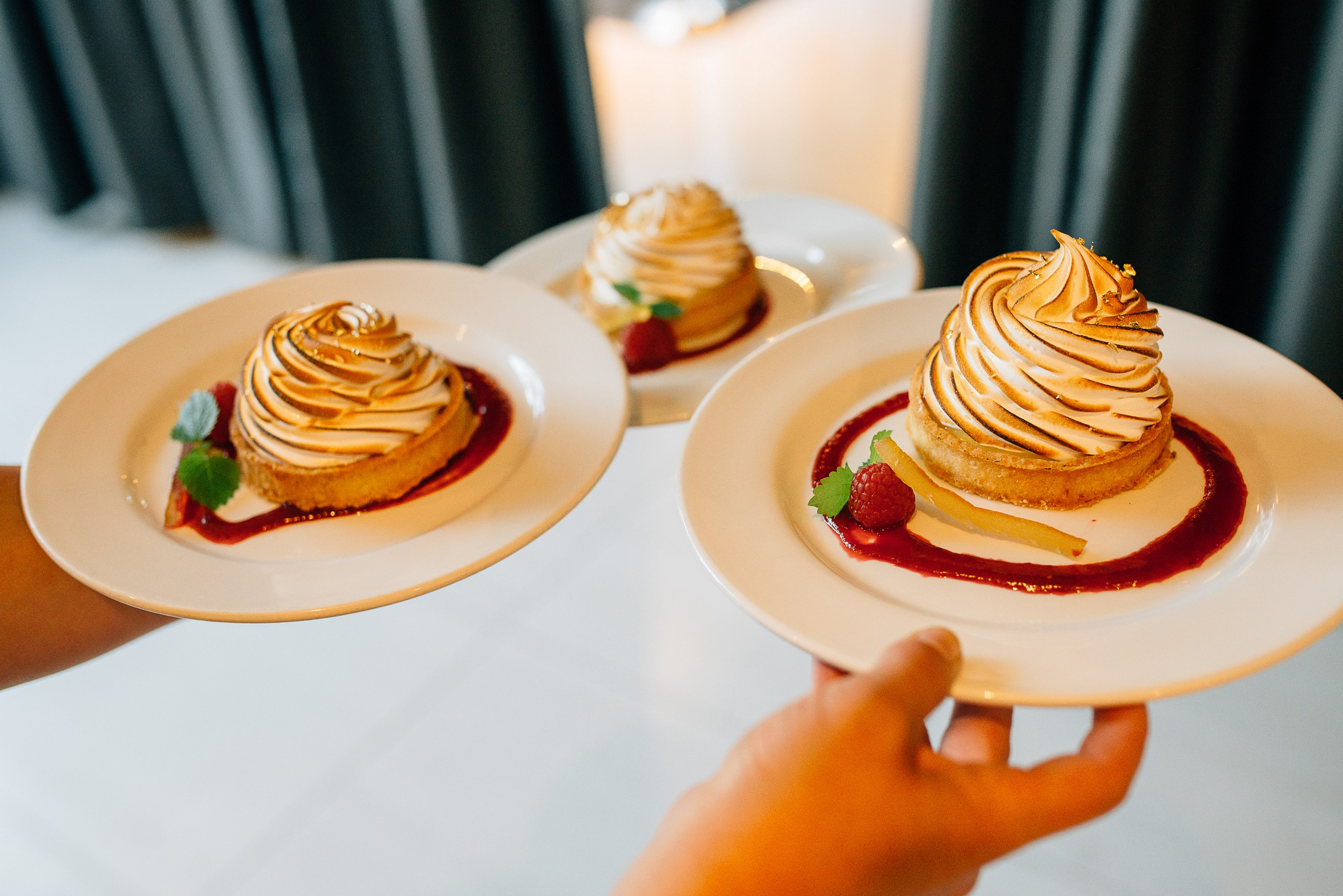 Dockside Restaurant Wedding Dessert