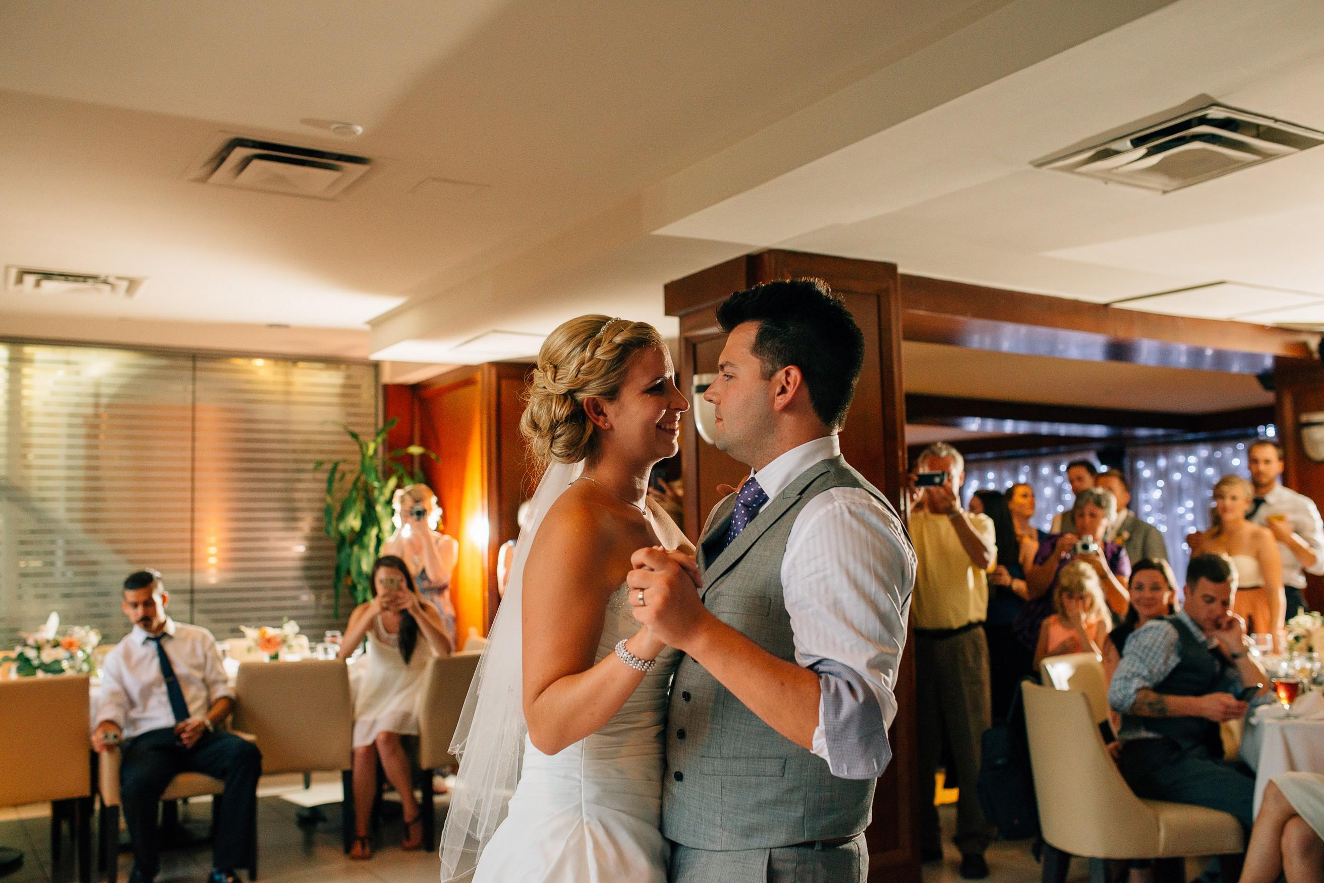 Dockside Restaurant First Dance Wedding