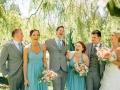 Wedding Squad in Van Dusen Gardens